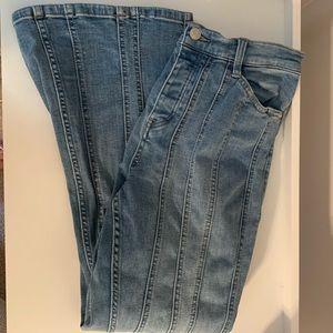 VINTAGE FREE PEOPLE flare jeans 30 short